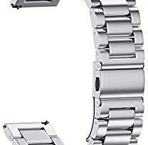 NotoCity 20mm 腕時計バンド ステンレス 腕時計ストラップ 交換ベルト対応 Samsung Gear S2 Classic Watch – コスパ良い。細部までしっかり塗装出来ていればもっと良い。