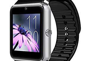 SZSCLM スマートウォッチ 心拍計 スマートブレスレット 防水 歩数計 smart watch 活動量計 LINE 電話 着信通知 睡眠検測 タッチ操作 iPhone Android – 初めてのスマートウォッチ購入